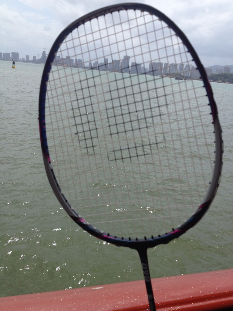 My racket decided to go to Gulangyu, one of the biggest tourist spots on Xiamen. To get to the island, it needed to take a short ferry ride.
