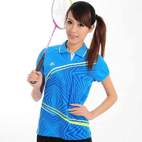 Badminton-t-shirt-badminton-short-sleeve-tournament-T-shirt-women-badminton-apparel-kason-FAYG006