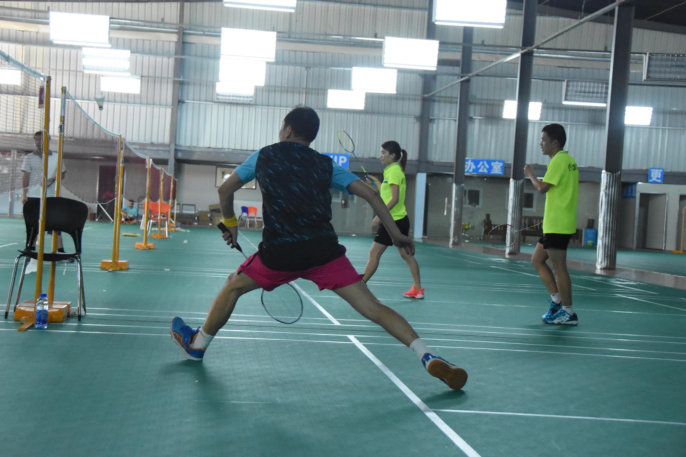 Becky Cup badminton tournament Xiamen, China