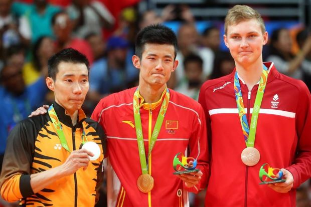 The Olympians for the 2016 Rio mens singles games.