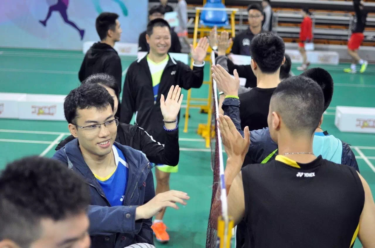 Xiamen badminton tournament