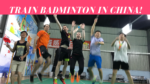 Badminton training camp