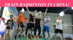 Badminton training camp